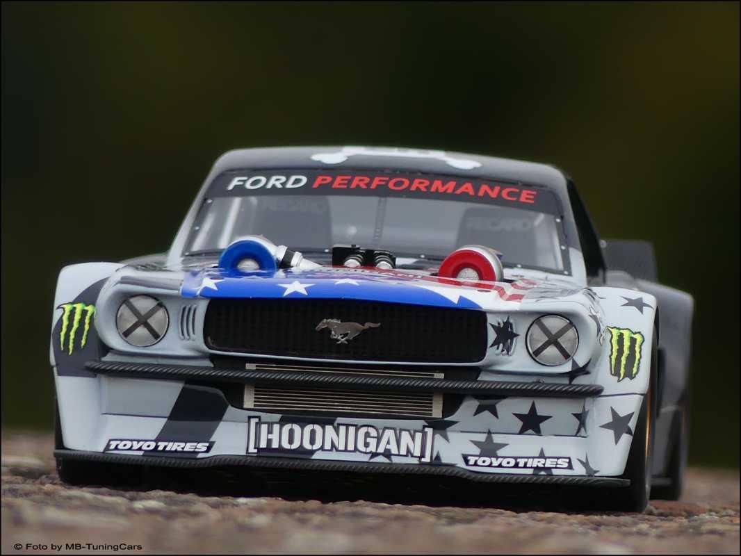 Hoonigan Mustang Matt Leblanc