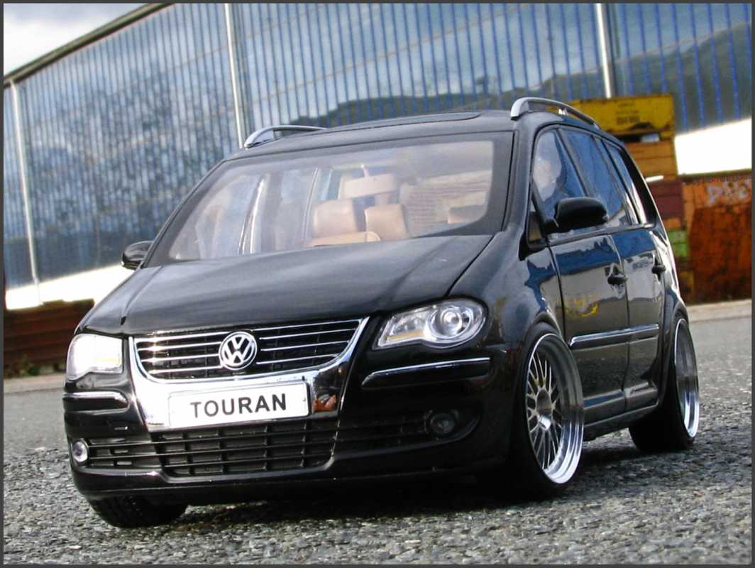 mb tuningcars 1 18 tuning vw touran 1t tdi. Black Bedroom Furniture Sets. Home Design Ideas