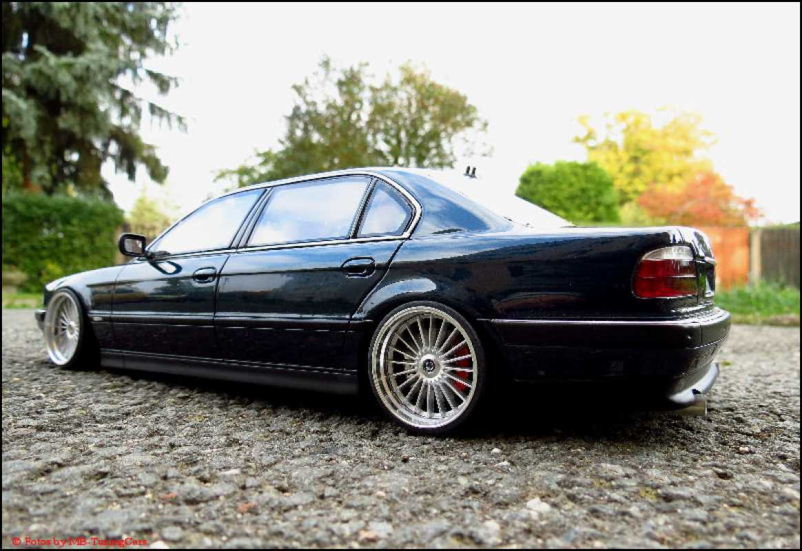 Mb Tuningcars 1 18 Tuning Bmw E38 750il Alpina Alufelgen Blue Limited Edition Ovp Rar
